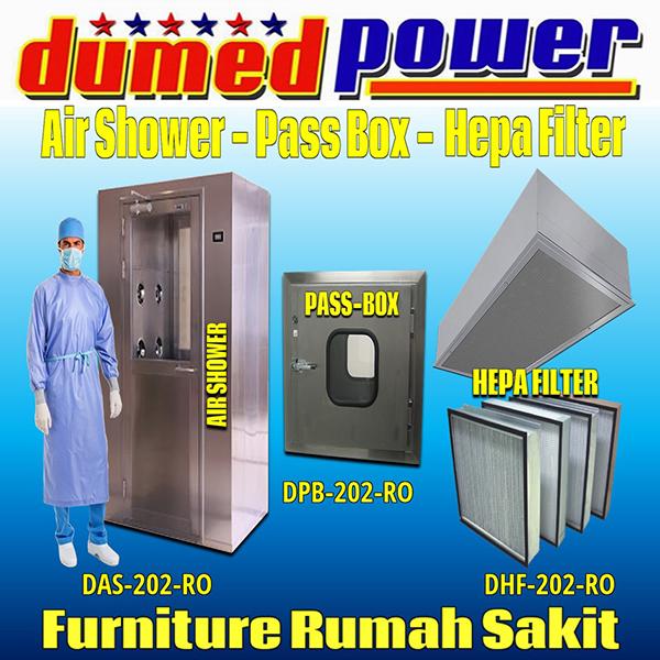 Air Shower - Pass Box - Hepa Filter Ruang Operasi Rumah Sakit