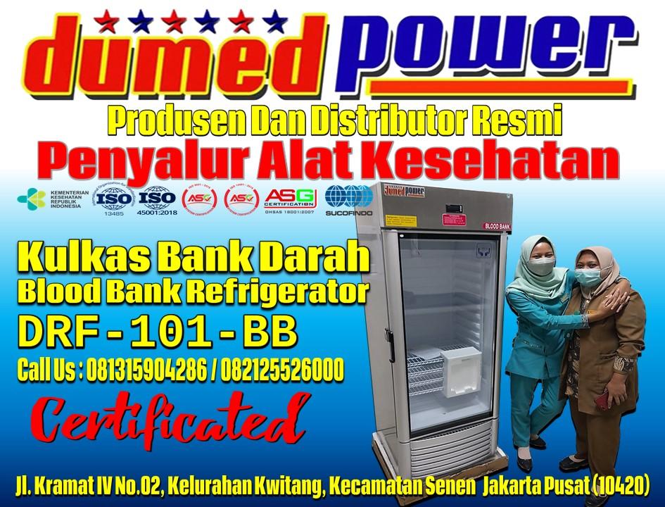 Blood-Bank-Refrigerator-1-Pintu-Kapasitas-188-Liter-DRF-101-BB-DUMEDPOWER